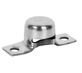 Tail Gate Hinge Styleside Stainless Steel  1Pc  1964-72