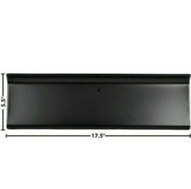 F Series Glove Box Door Black EDP Steel  1956