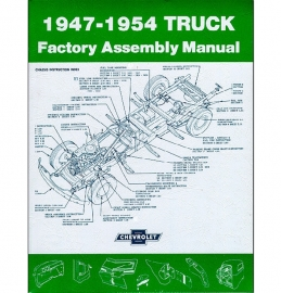 Factory Assembly Manual  1947-54