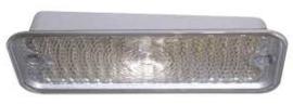 Parking Light Lens Clear  1975-80  Rechts