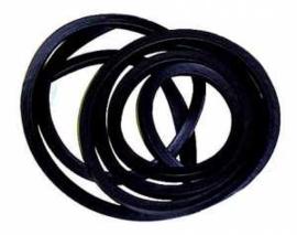 Deurrubbers. 1960-61. Deur en cabine rubbers voor beide zijdes