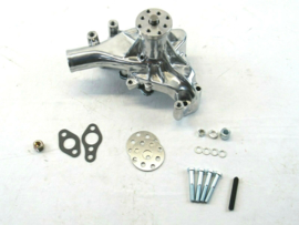 Small Block Chevy Aluminum Long Water Pump Polished