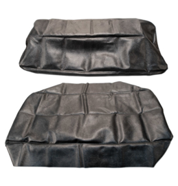 Seat Cover kit.  Black  1947-55