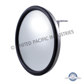 "Stainless 7 1/2"" Convex Mirror - Center Stud"