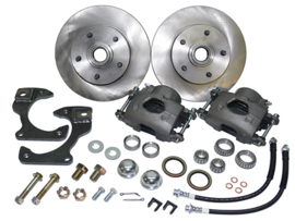 Disc Brake Wheel Kit  1963-70  Chevy - GMC Truck  5 x 4.75 Bolt Pattern