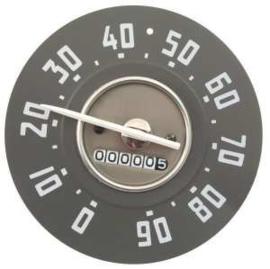 Snelheid meter. 90Mph.  1951-53