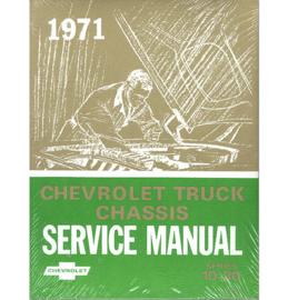 1971  Chevrolet Truck Shop Manual