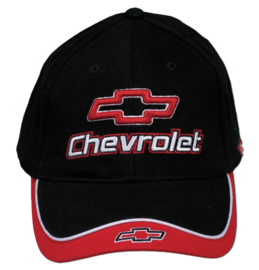Hats  -- Chevrolet --  Bowtie decal  Red