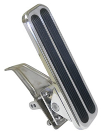 Gas Pedal, Polished Aluminum