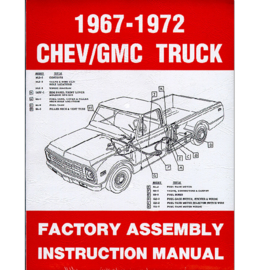 Factory Assembly Manual 1967-72