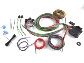 12 Circuit Universal Wire Harness  Musele Car Hor Rod street Rod.