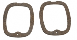 CT-257.  Chevy Truck Taillight Lens Gaskets (2pcs)  1947-53