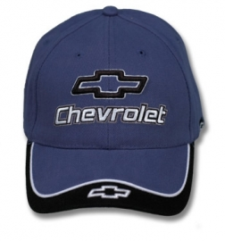 98-992.  Hat.  -- Chevrolet --   Blue