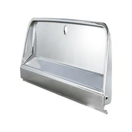 Glove Box Door For 1964-66 Chevrolet Truck  Chrome