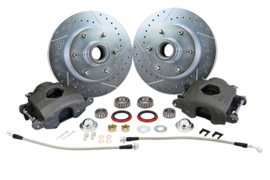Brake Component Kit, 6 Lug Disc.  1960-87  C10