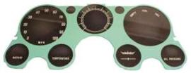Instrumenten Lens, Zonder Tachometer en Vacuum.  1967-72
