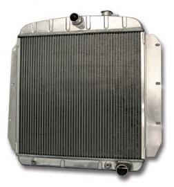Radiator  Aluminium 1955-59.