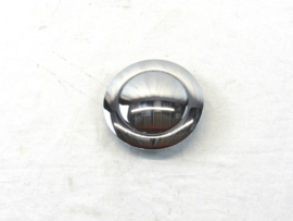 Universal GM 9 Hole Steering Wheel Horn Button Smooth Chrome