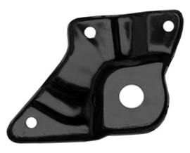 25-4322,  Front Fender Lower Rear Mount Plate.  Right