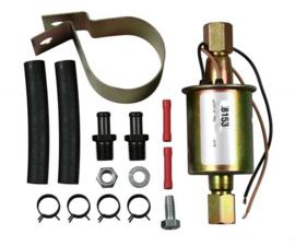 Elektrische Benzine Pomp .    Solenoid; 12 volts; 10-14 PSI; 35 GHP; 3/8 hose