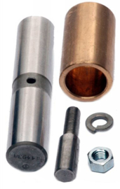 Spring Eye Bolt & Bushing-3/4 & 1 ton  , Rear