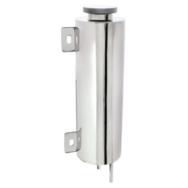 "Overflow Tank. - 3 x 10""-  Polished Stainless steel"