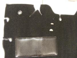 Tapijt vloerbedekking  1947-55  Zwart