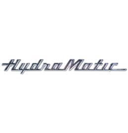 20-322,   Hydramatic  Embleem  1957