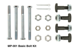 Mustang II stock control arms bolt kit