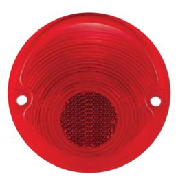 Achterlamp Lens   Plastic  Rood   Stepside  1955-59