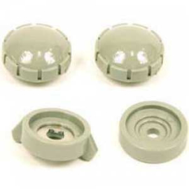 Radio Knob Set Gray 1954-55
