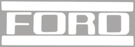 Ford Truck Tail Gate Lettering Decal.  1953-72.  White