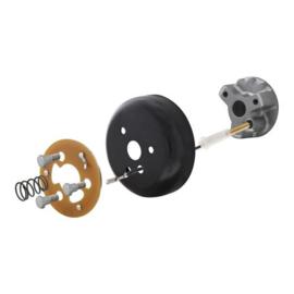 Early GM Steering Wheel Hub Adapter Kit For 3-Bolt Mount Steering Wheels