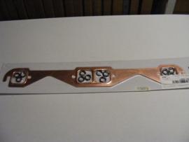 """Copper seal Exhaust Gasket. Lange Race Port 1.45""""x 1.55"""""""
