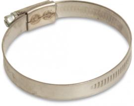 Wormschroefslangklem  50-70 mm