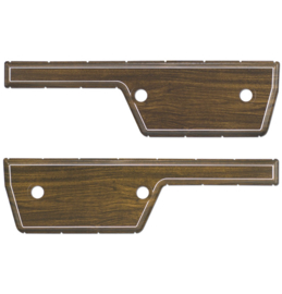 Deur panelen 1972  Set  2 stuks  Woodgrain