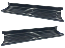 Ford Truck steel Running Boards .  EDP primer   Pair  New.  ***