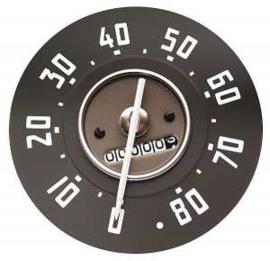Snelheid meter  80 Mph.  1947-49