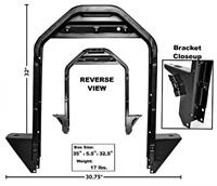 Radiator Support 1947-54    GMC  Truck
