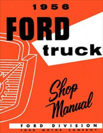 Ford Truck Shop Manual.  1956