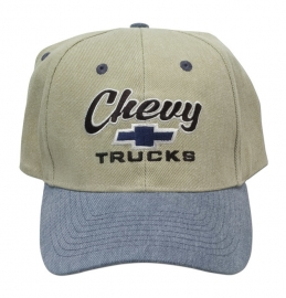 98-996. Hat.  --Chevy Trucks --   Blue/Khaki
