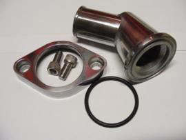 GM/ Chevrolet  15° Aluminum Swivel Water Neck Polished