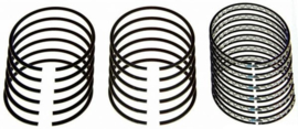 """Piston Ring Set; 2-3/32, 1-3/16; Iron    0.020"""""""