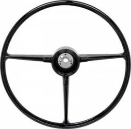 Stuurwiel 1967-68. ´´ Nieuw´´  Zwarte uitvoering