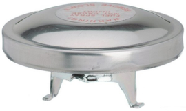 Benzine tank dop origineel type  stainless steel