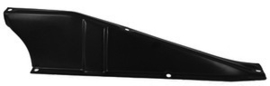 Rear support, upper tie bar baffle, driver's side fits:   1960-66