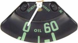 Olie druk meter  1954-55
