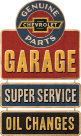 Genuine Chevrolet Garage Linked Signs