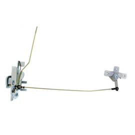 Door Latch With Remote Control Rods For 1967-71    Links