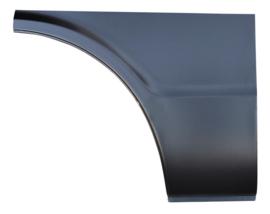 Suburban. This passenger's side front lower quarter panel